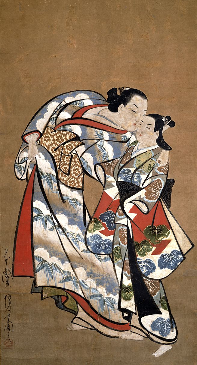 Japan Edo Period Girls
