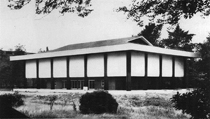 Gallery of Horyuji Treasures (before the 1999 rebuilding)