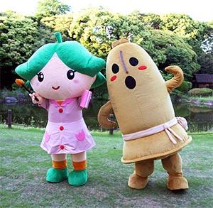 東京国立博物館公式キャラクター トーハクくん&ユリノキちゃん