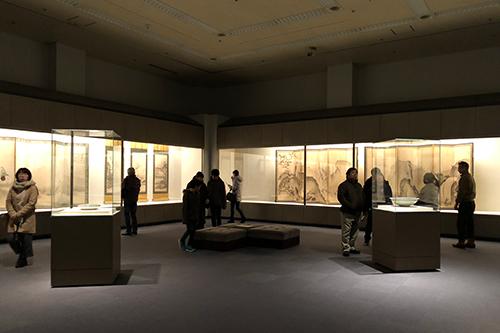 福島県立博物館 展示会場風景
