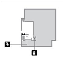 法隆寺宝物館フロアマップ