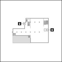 東洋館4階 フロアマップ