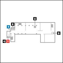東洋館地下1階 フロアマップ