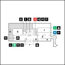 平成館1階 フロアマップ