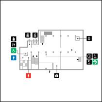 東洋館1階 フロアマップ