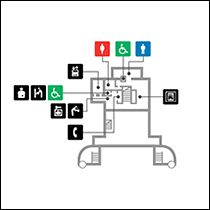 本館地下1階 フロアマップ