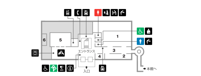 平成館1階
