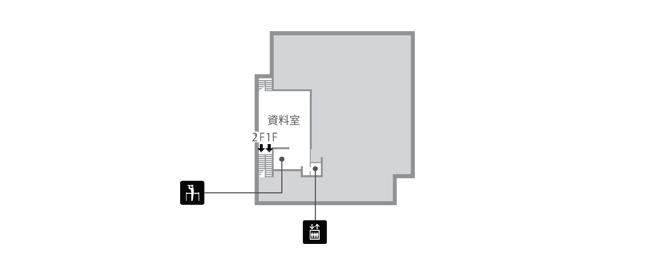 法隆寺宝物館 中2階