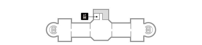 表慶館2階
