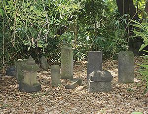有馬家の墓石