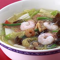 Mixed Noodle Soup