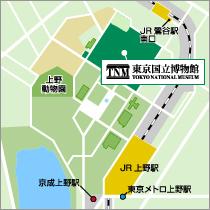 東京国立博物館 地図