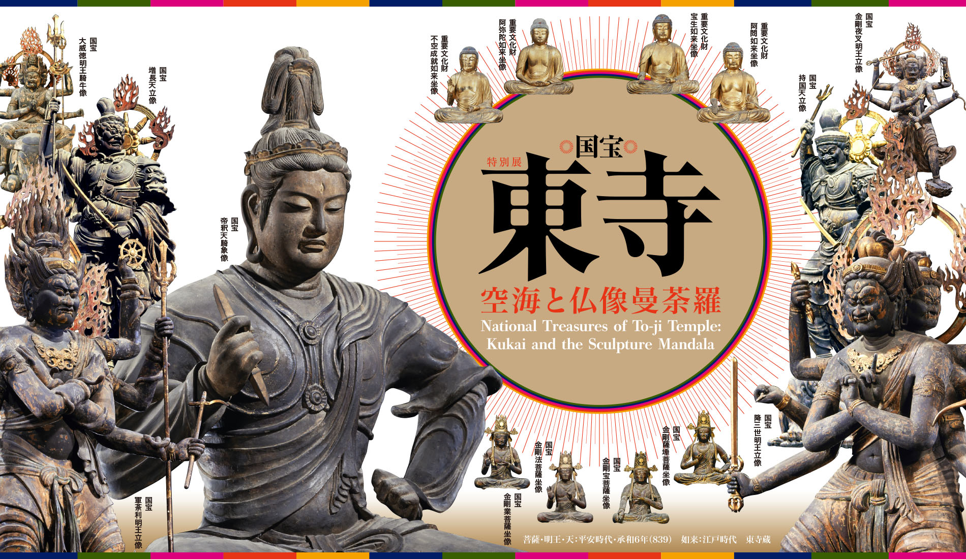 National Treasures of To-ji Temple; Kukai and the Sculpture Mandala