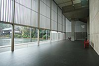 法隆寺宝物館ラウンジ