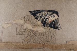 男衾三郎絵巻断簡(部分)