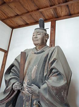 六道珍皇寺の小野篁像