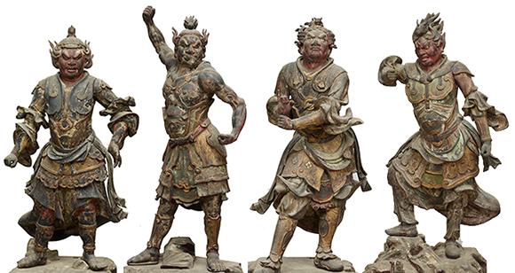 重要文化財 十二神将立像 山形・本山慈恩寺蔵
