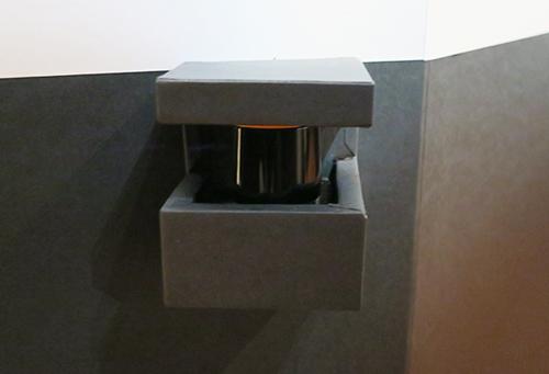 会場に設置されたこのセンサ