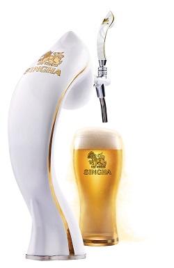 「樽出し」のシンハービール