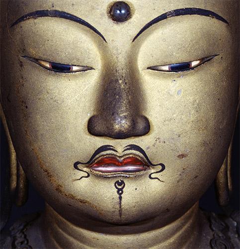 菩薩立像(面部)
