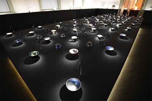 第1室 陶器:茶碗 Tenmoku(天目)(部分) ジャン・ジレル