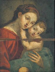 重要文化財 聖母子像