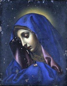 重要文化財 聖母像(親指のマリア)