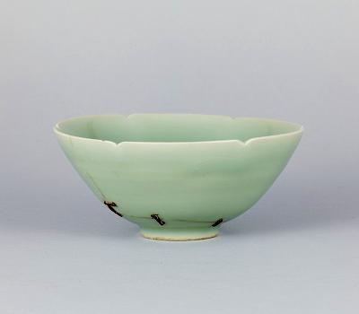 重要文化財 青磁茶碗 銘馬蝗絆 龍泉窯 南宋時代