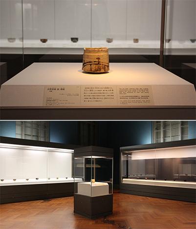 特集「和物茶碗の世界-美濃、樂、京焼、唐津、高取」会場(本館14室)の様子