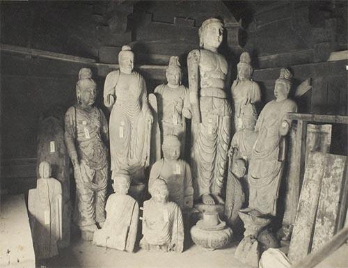 唐招提寺の破損仏
