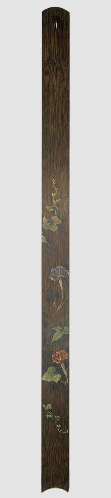 朝顔 横山松三郎筆 明治12年(1879)