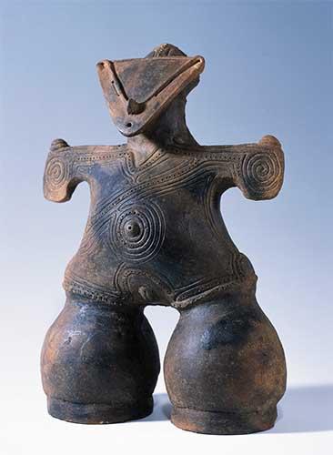 国宝 土偶 仮面の女神