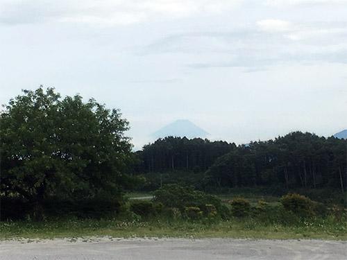 井戸尻遺跡からみた富士山