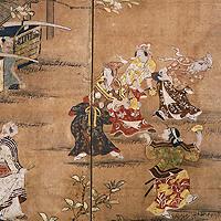errymaking Under Blossom Trees