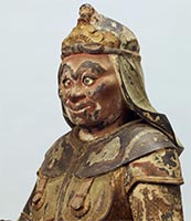 Standing Junishinsho (Twelve Heavenly Generals): Shinshin (Monkey General)