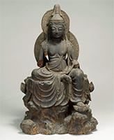 Seated Nyoirin Kannon Bosatsu (Cintamanicakra)