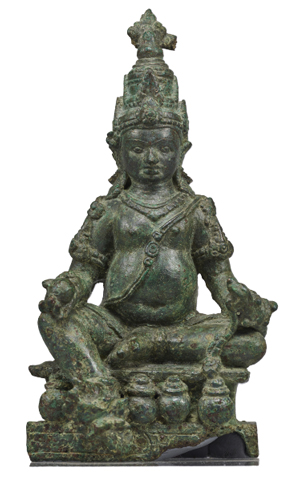 Seated Jambhala or Kubera