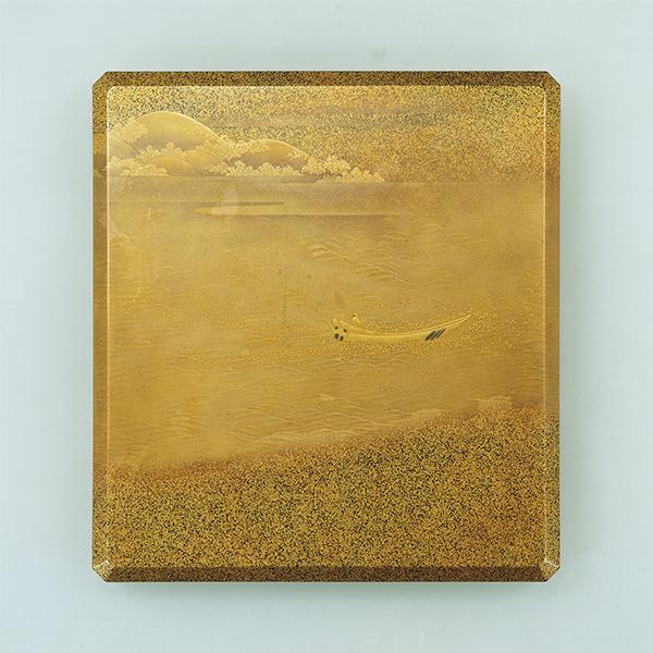 比良山蒔絵硯箱 作品画像