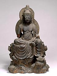 Seated Nyoirinkannon Bosatsu (Cakravarti-cintamani)