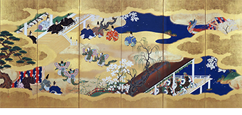 Scenes from the Tale of Genji, Kocho (