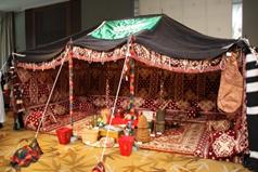 アラビアの遊牧民テント