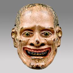 重要文化財 能面 伝山姥 伝赤鶴作梅若家伝来 南北朝時代・14世紀