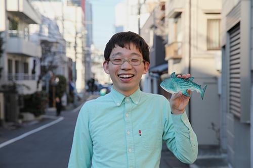 the artist Inoue Ryo
