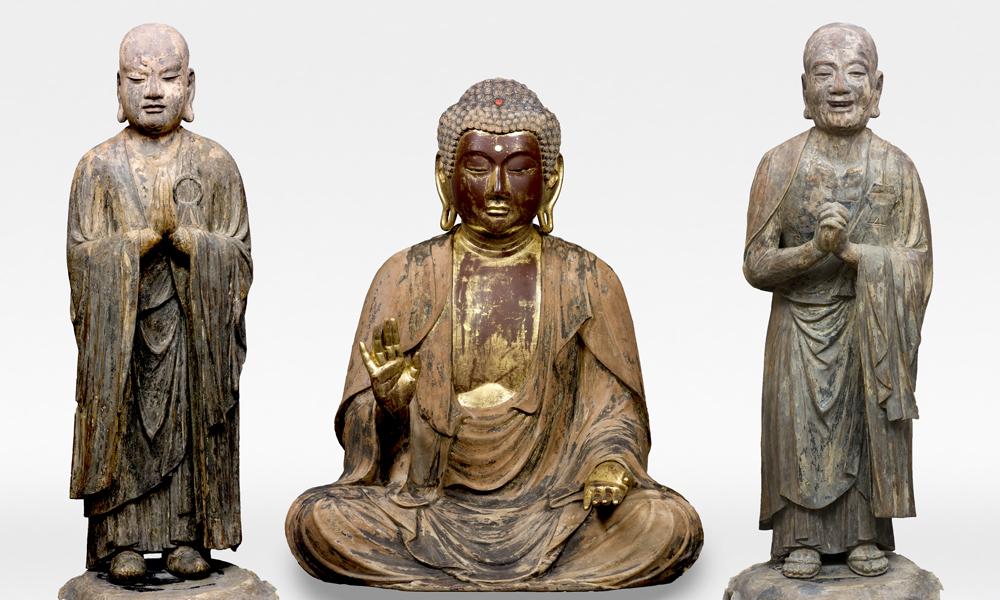 Seated Shaka Nyorai (Sakyamuni), Kamakura period, 13–14th century, Fukushima, Ryogonji