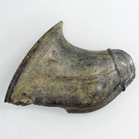 중요미술품 동물 무늬 식판