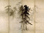 Pine Trees (Detail)