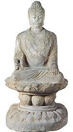 一級文物 仏坐像(ぶつざぞう)