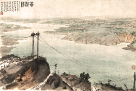 The Clarity of the Yellow River, Fu Baoshi, 1960, National Art Museum of China