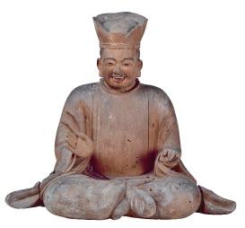 摩多羅神坐像