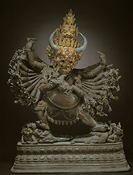 Standing Figure of Yamantaka